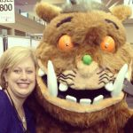 You meet the craziest people at OLA … The Gruffalo!