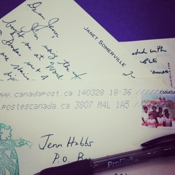 Nothing beats a handwritten letter...