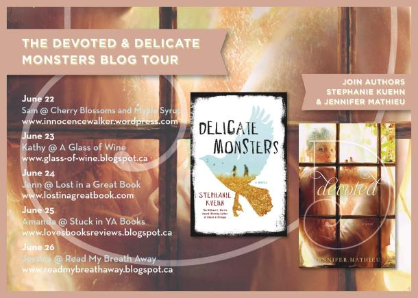 Devoted & Delicate Blog Tour Evite