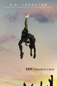 Image result for exit pursued by a bear book cover